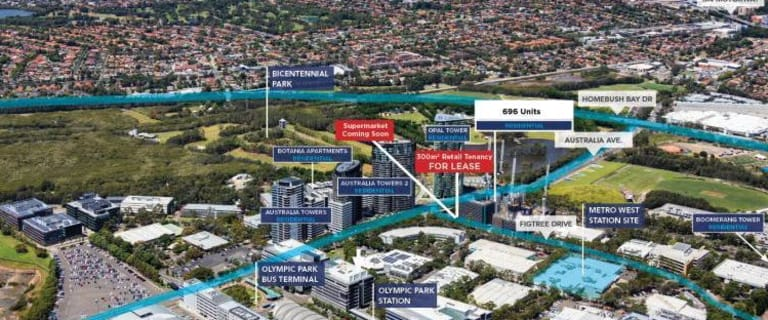 Shop & Retail commercial property for lease at 2 Figtree Drive Sydney Olympic Park NSW 2127