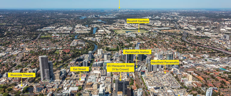 Retail commercial property for lease at Shops 1 & 2 45 Macquarie Street Parramatta NSW 2150