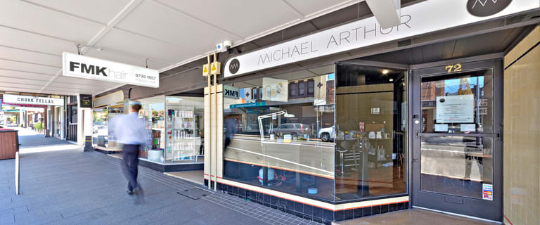Retail commercial property for lease at 72 Dalhousie Street Haberfield NSW 2045