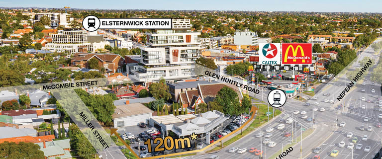Retail commercial property for lease at 201 Glen Huntly Road Elsternwick VIC 3185