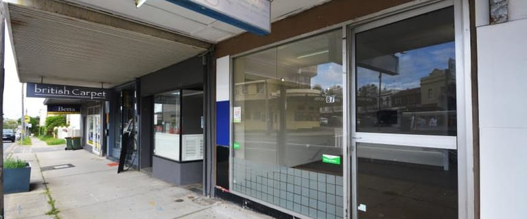 Shop & Retail commercial property for lease at 87 Carrington Street Waverley NSW 2024