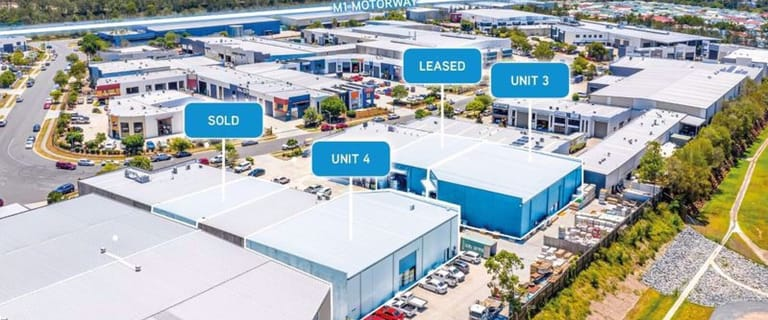 Factory, Warehouse & Industrial commercial property for lease at Units 3 & 4/52 Blanck Street Ormeau QLD 4208