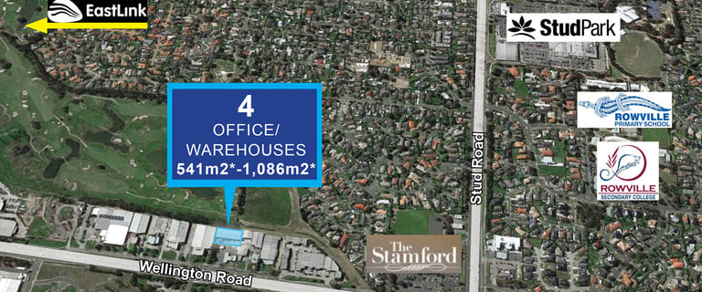 Factory, Warehouse & Industrial commercial property for lease at Bldgs 1-4/893a Wellington Road Rowville VIC 3178
