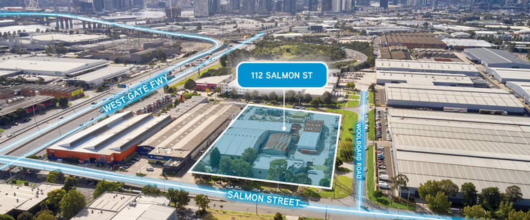 Factory, Warehouse & Industrial commercial property for lease at 112 Salmon Street Port Melbourne VIC 3207