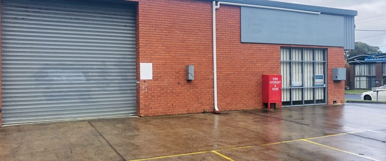 Factory, Warehouse & Industrial commercial property for lease at 1/31 Rushdale Street Knoxfield VIC 3180