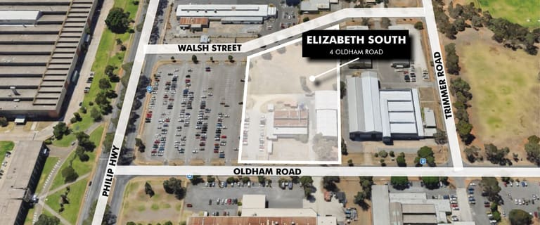 Factory, Warehouse & Industrial commercial property for lease at 4 Oldham Road Elizabeth South SA 5112