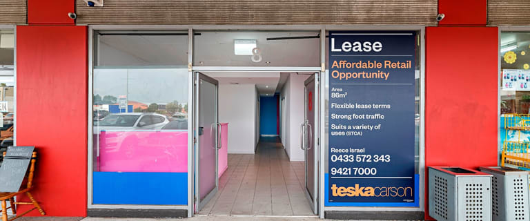Medical / Consulting commercial property for lease at Shop 8/136 The Avenue, The Avenue Shopping Centre Sunshine West VIC 3020