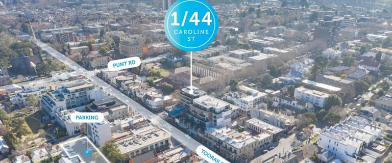Offices commercial property for lease at Level 1, 44 Caroline Street South Yarra VIC 3141
