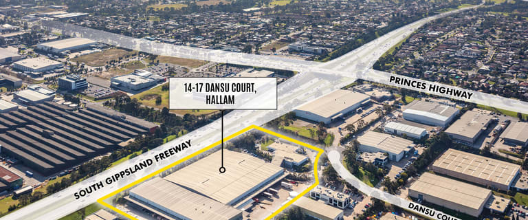 Factory, Warehouse & Industrial commercial property for lease at 14-17 Dansu Court Hallam VIC 3803