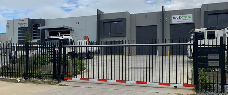 Factory, Warehouse & Industrial commercial property for lease at 1/47 Gwen Road Cranbourne West VIC 3977