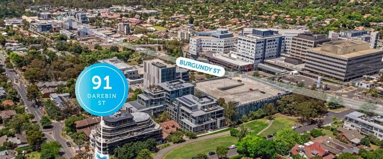 Medical / Consulting commercial property for lease at 91 Darebin Street Heidelberg VIC 3084