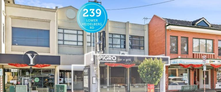 Shop & Retail commercial property for lease at Ground Floor 239 Lower Heidelberg Road Ivanhoe East VIC 3079