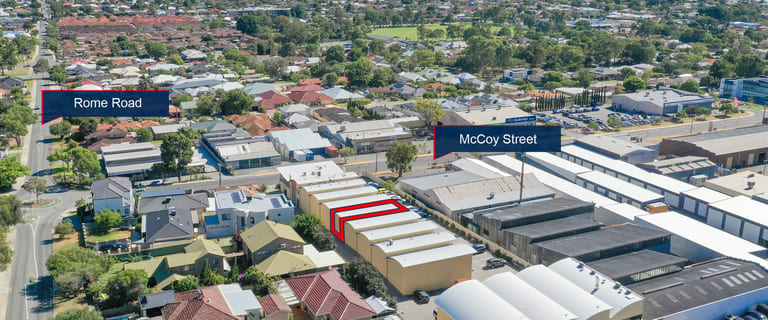 Factory, Warehouse & Industrial commercial property for sale at 6/33 McCoy Street Myaree WA 6154