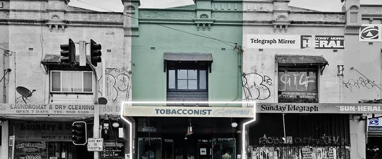 Shop & Retail commercial property for lease at Shop/551c King St Newtown NSW 2042