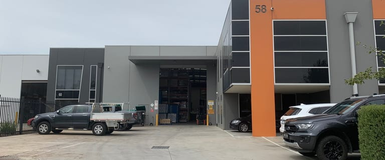 Factory, Warehouse & Industrial commercial property for lease at 58 Micro Circuit Dandenong South VIC 3175