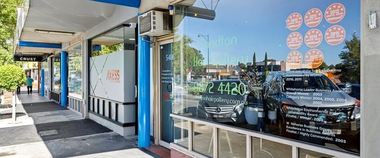 Shop & Retail commercial property for lease at 541B Whitehorse Road Mitcham VIC 3132