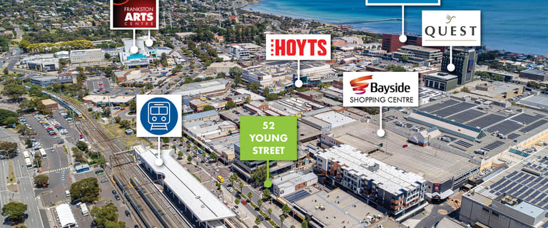 Offices commercial property for lease at 2,3 & 1stF/52 Young Street Frankston VIC 3199