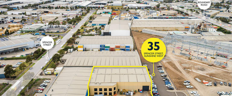 Factory, Warehouse & Industrial commercial property for lease at 35 Spencer Street Sunshine West VIC 3020