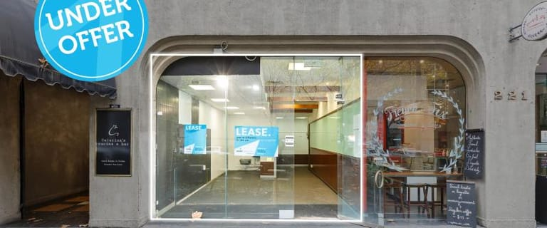 Shop & Retail commercial property for lease at Retail/Shop 4/221 Queen Street Melbourne VIC 3000