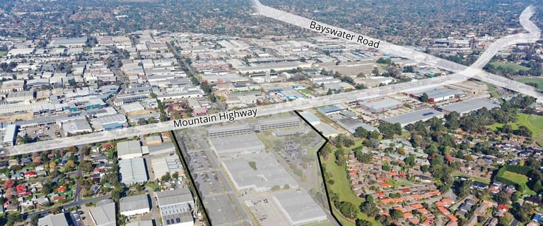 Factory, Warehouse & Industrial commercial property for lease at 885 Mountain Highway Bayswater VIC 3153