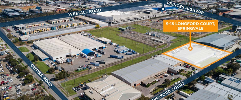 Factory, Warehouse & Industrial commercial property for lease at 9-15 Longford Court Springvale VIC 3171