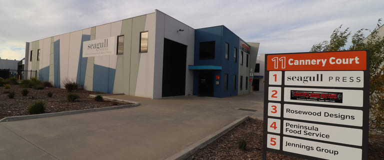 Factory, Warehouse & Industrial commercial property for lease at 1/11 Cannery  Court Tyabb VIC 3913