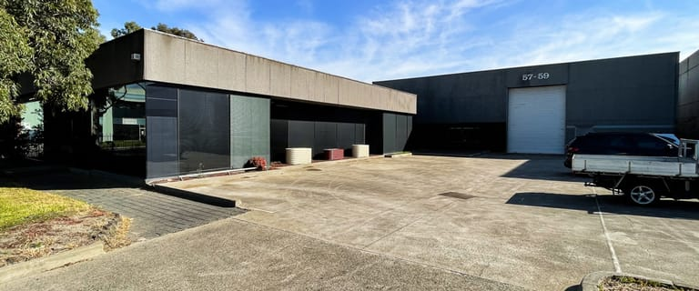 Factory, Warehouse & Industrial commercial property for sale at 57-59 Jarrah Drive Braeside VIC 3195