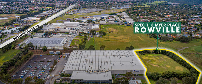 Factory, Warehouse & Industrial commercial property for lease at Spec 1, 3 Myer Place Rowville VIC 3178