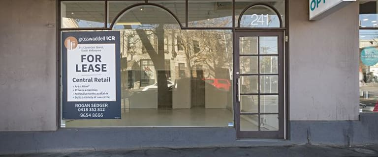 Shop & Retail commercial property for lease at 241 Clarendon Street South Melbourne VIC 3205
