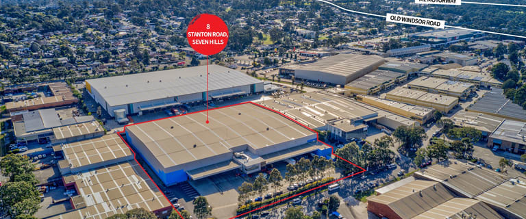 Factory, Warehouse & Industrial commercial property for lease at 8 Stanton Road Seven Hills NSW 2147