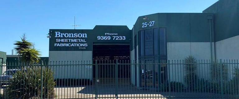 Factory, Warehouse & Industrial commercial property for lease at 25 - 27 Industrial Ave Hoppers Crossing VIC 3029
