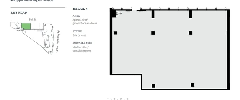 Offices commercial property for lease at 19 Bell Street Ivanhoe VIC 3079