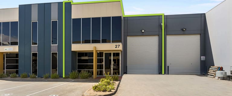 Factory, Warehouse & Industrial commercial property for lease at 27/148 Chesterville Road Moorabbin VIC 3189