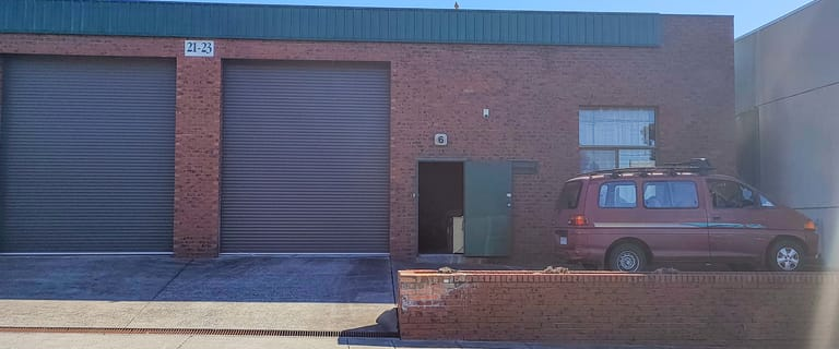 Factory, Warehouse & Industrial commercial property for lease at 6/21-23 Levanswell Road Moorabbin VIC 3189