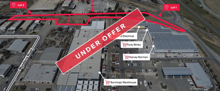 Development / Land commercial property for sale at Lot 1 & 2 McMillan Road Echuca VIC 3564
