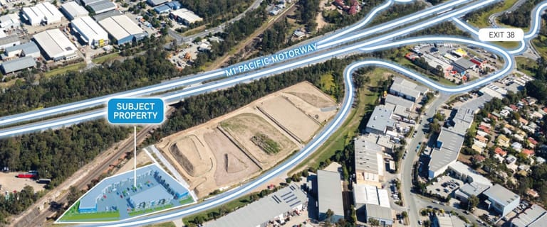 Industrial / Warehouse commercial property for sale at Eastern Business Park Lot 1 Eastern Service Road Stapylton QLD 4207