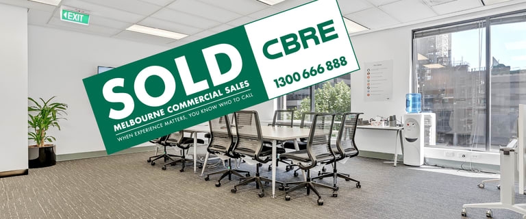 Offices commercial property sold at Level 4/313 La Trobe Street Melbourne VIC 3000