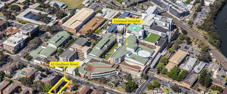Development / Land commercial property sold at 61 Goulburn Street Liverpool NSW 2170