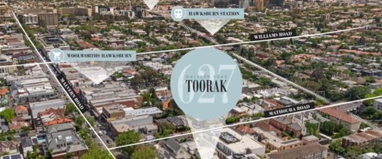 Medical / Consulting commercial property for sale at 627 Malvern Road Toorak VIC 3142