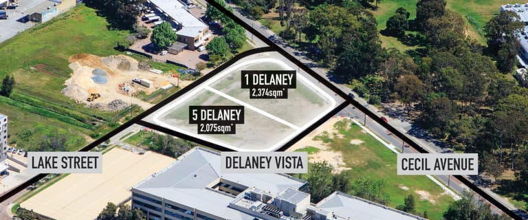 Development / Land commercial property for sale at 1 - 5 Delaney Vista Cannington WA 6107