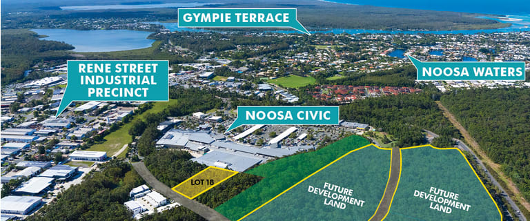 Development / Land commercial property for sale at Lot 18 Hofmann Drive Noosaville QLD 4566