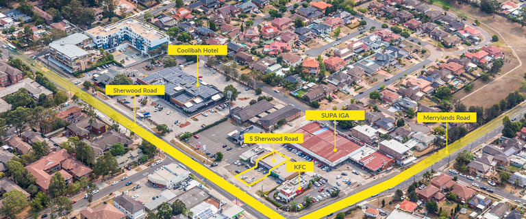 Retail commercial property sold at 5 Sherwood Road Merrylands NSW 2160