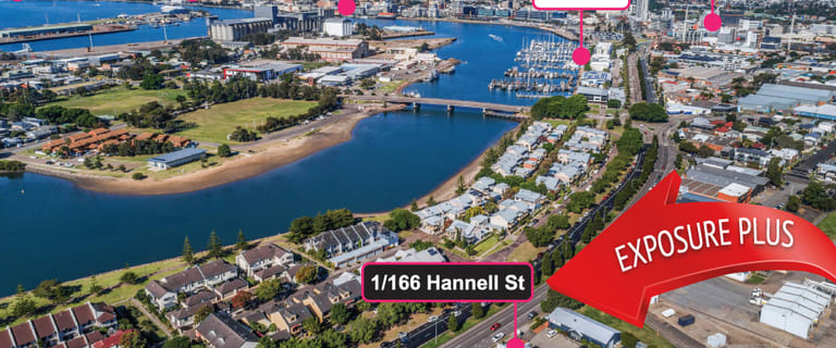 Offices commercial property for lease at 1/166 Hannell Street Wickham NSW 2293