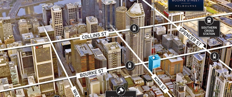 Offices commercial property sold at Corner Level 3, 620 Bourke Street Melbourne VIC 3000