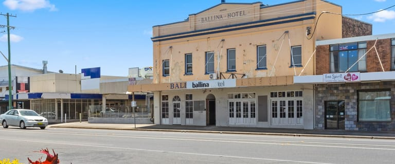 Hotel / Leisure commercial property for sale at BALLINA HOTEL/253 River Street Ballina NSW 2478