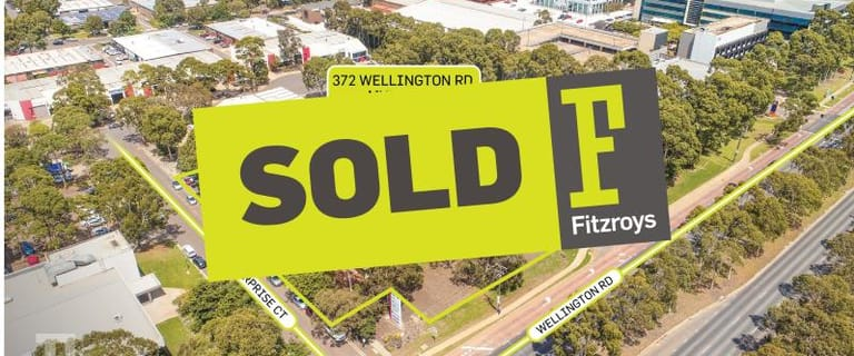 Offices commercial property sold at 372 Wellington Road Mulgrave VIC 3170