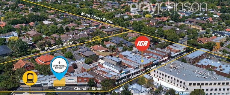 Showrooms / Bulky Goods commercial property for sale at 6 Churchill Street Mont Albert VIC 3127