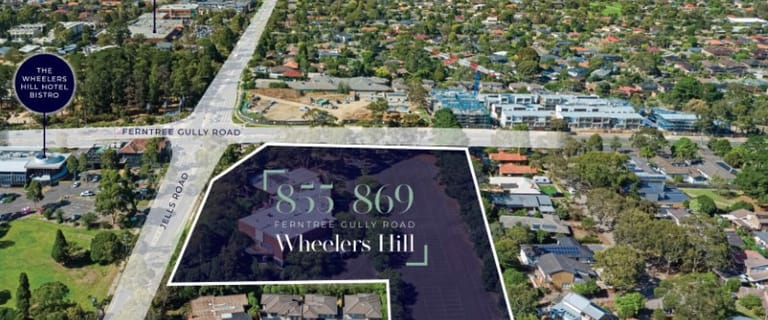 Development / Land commercial property for sale at 855-869 Ferntree Gully Road Wheelers Hill VIC 3150