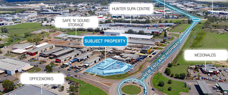 Retail commercial property for lease at 323 New England Highway Rutherford NSW 2320
