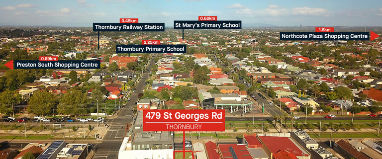 Development / Land commercial property for sale at 479 St Georges Road Thornbury VIC 3071